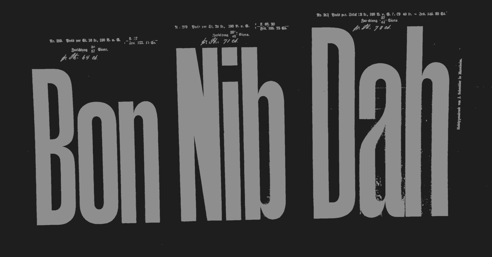 Klim Type Foundry · Mānuka design information